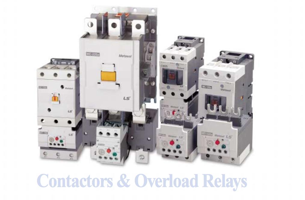 Rơle nhiệt và Contactor hãng LS